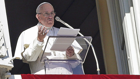 Pope Francis from the Vatican, on YouTube